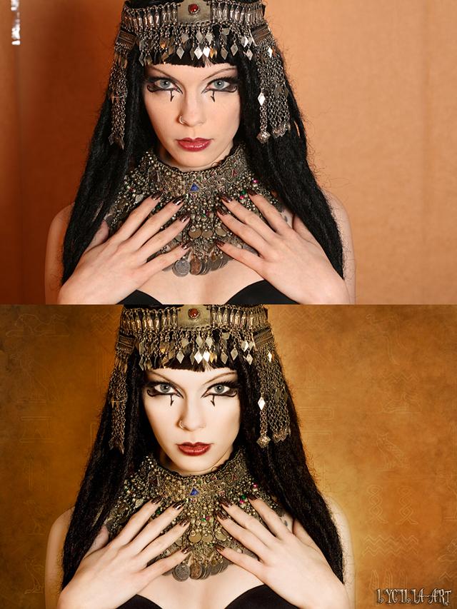 Model: Kitten - Vorher/Nachher Bildvergleich